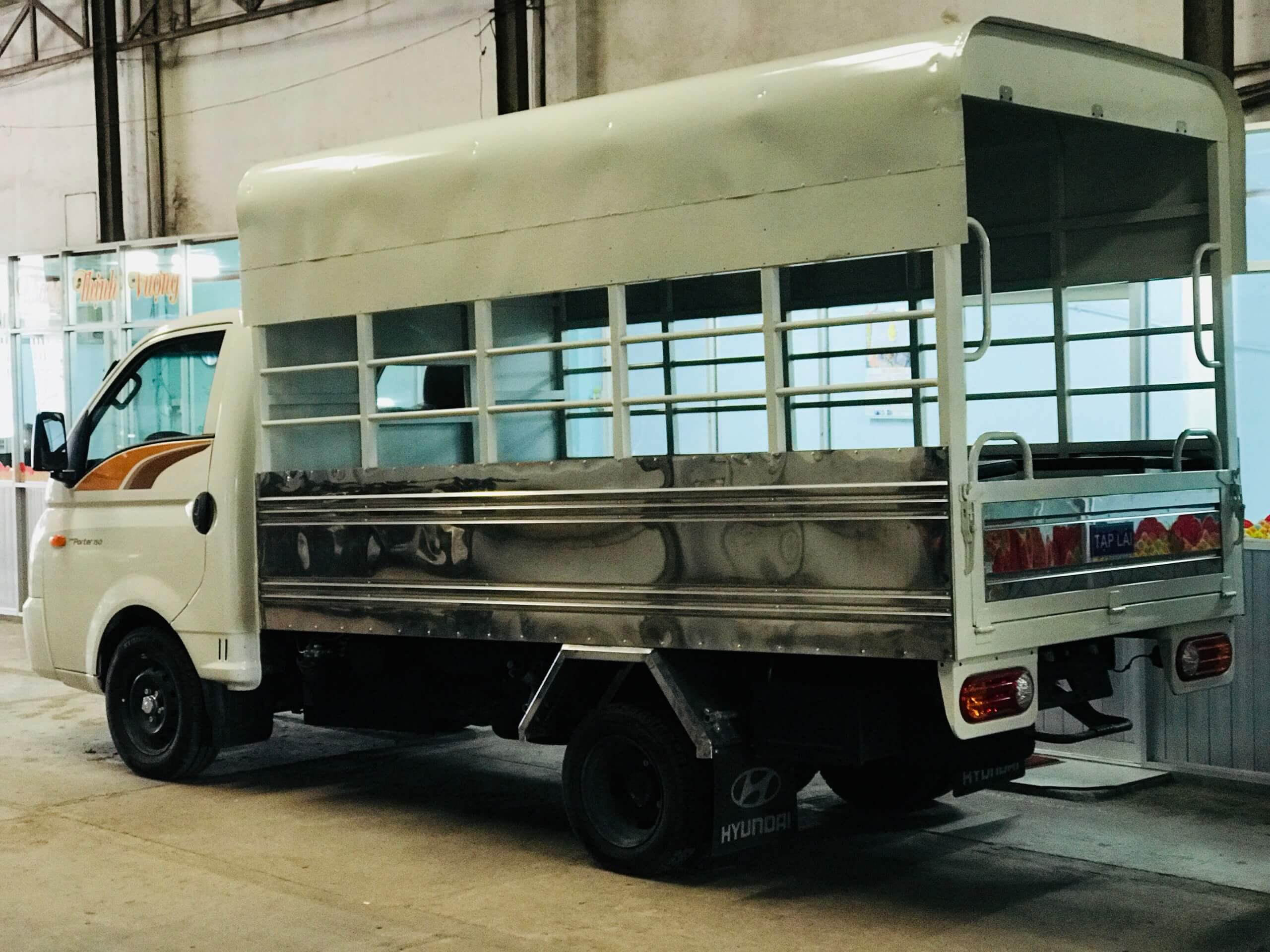 thiết kế xe tập lái - xe tập lái new porter